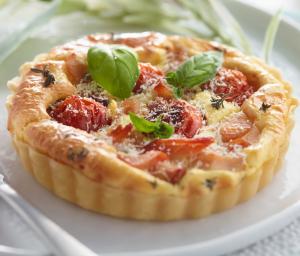 Savory Tomato & Turkey Tarts