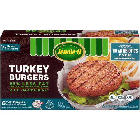 1/3 LB Turkey Burgers - Raised Without Antibiotics