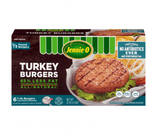 1/3 LB Turkey Burgers - Raised Without Antibiotics
