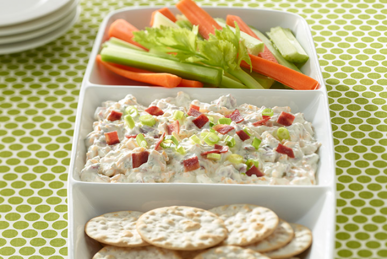 Cheddar Turkey Bacon Dip