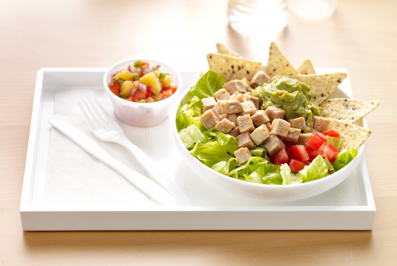 Turkey Taco Salad with Salsa