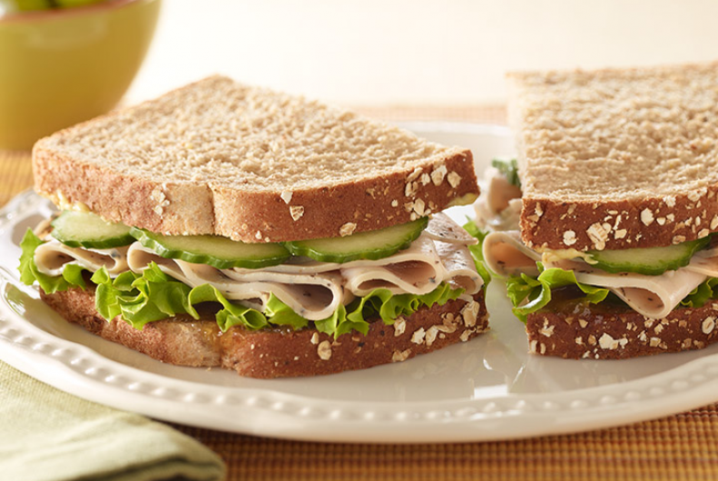 Turkey & Mango Chutney Sandwich