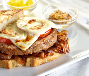 Patty Melts with Caramelized Onions