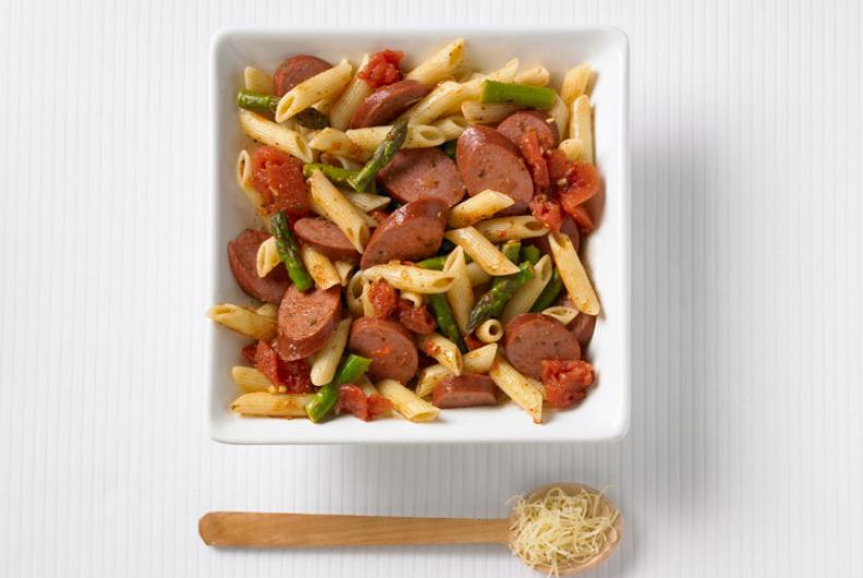 Turkey Sausage & Pasta Toss