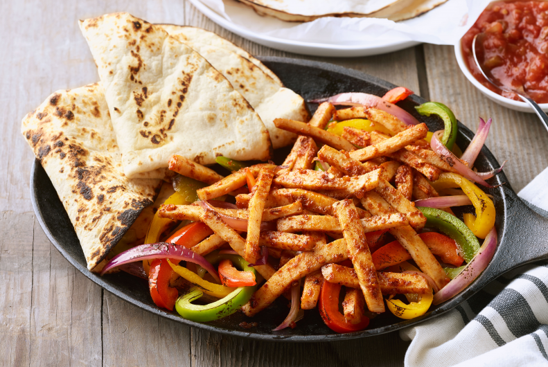 Jazzed-Up Turkey Fajitas