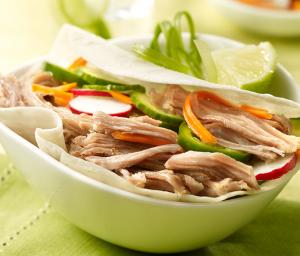 Banh-Mi Style Turkey Tacos