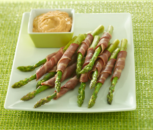 Turkey Bacon Wrapped Asparagus