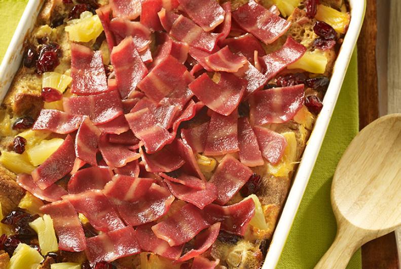 Turkey Bacon Casserole