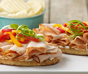 Open-Face Turkey Sandwich