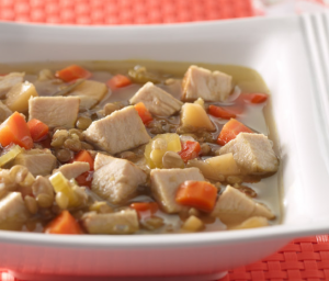 Lentil Turkey Soup