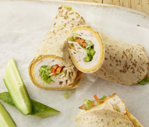 Turkey Tortilla Roll-Up