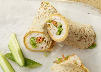 Turkey Tortilla Roll Up