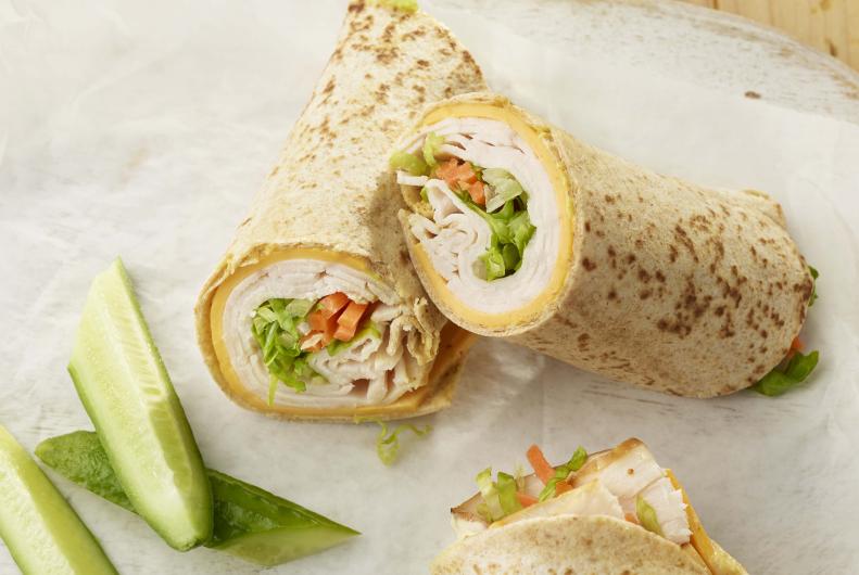 Turkey Tortilla Roll-Up