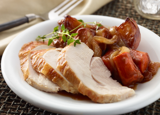 Slow Cooker Turkey Dinner