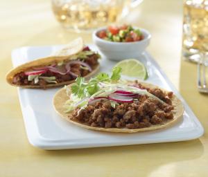 Turkey Tacos with Salsa