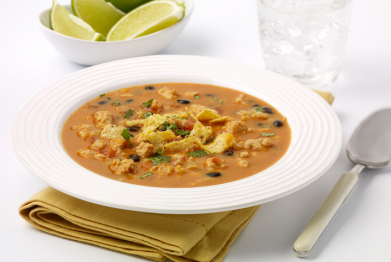 Turkey Enchilada Soup