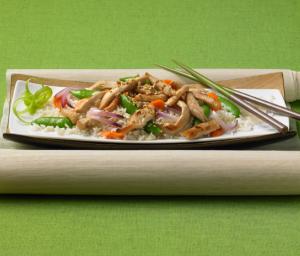 Turkey and Vegetable Stir Fry