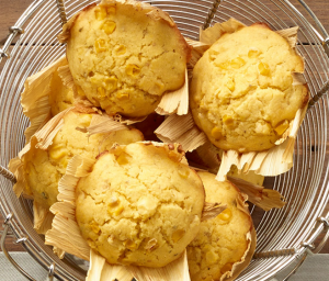 Triple Corn Muffins