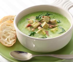 Spinach Turkey Bean Soup