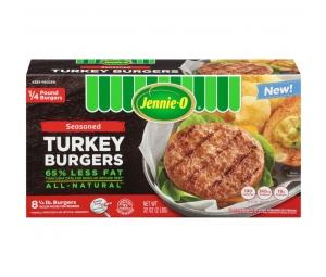1/4 lb. Seasoned Turkey Burgers