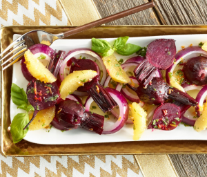 Roasted Beet & Orange Salad