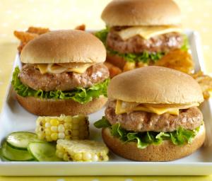 Turkey Butter Burger Sliders