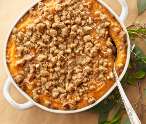 Butternut Squash & Sweet Potato Casserole