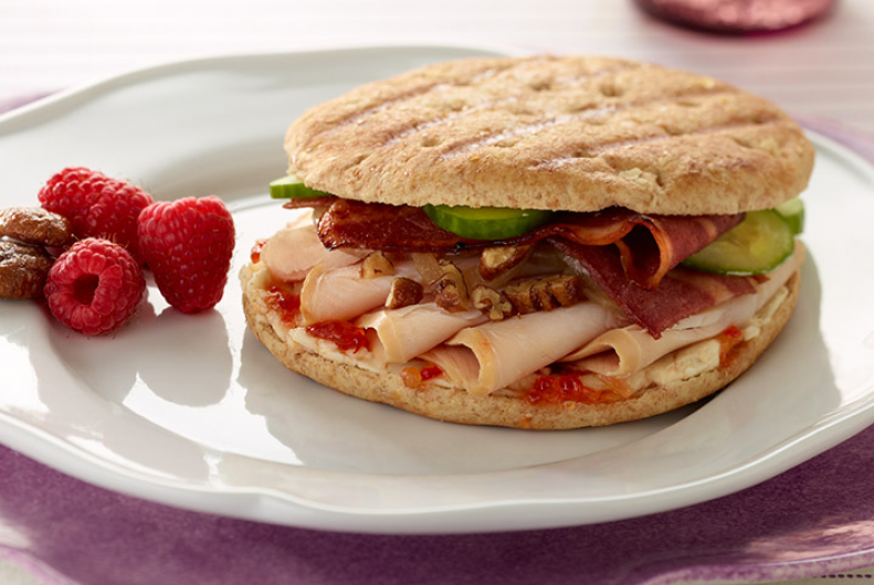 Sweet & Savory Turkey Panini
