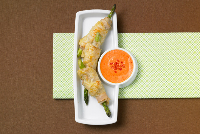 Turkey Wrapped Asparagus