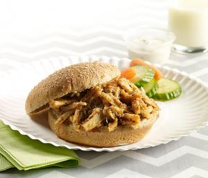 Shredded Turkey Sandwich