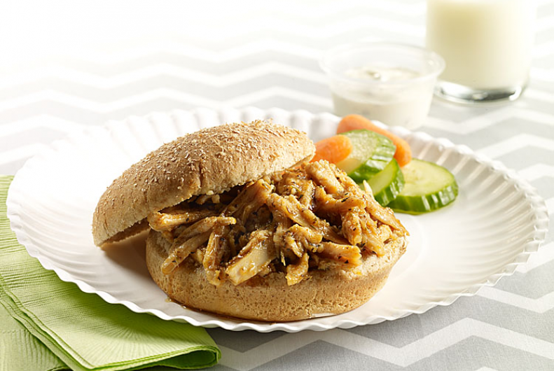Shredded Turkey Sandwich