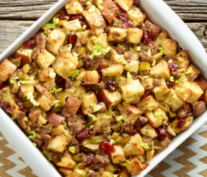 Apple Turkey Sausage Dressing