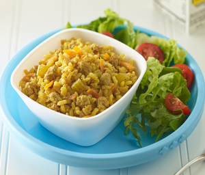 Curried Turkey Rice Bake