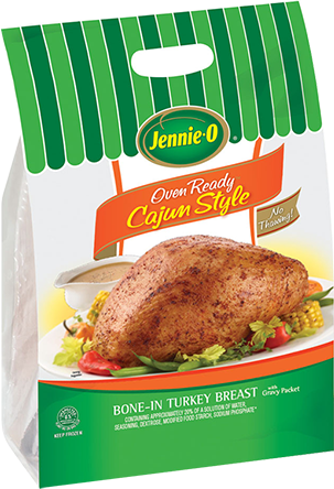OVEN READY™ Cajun Style Bone-In Turkey Breast
