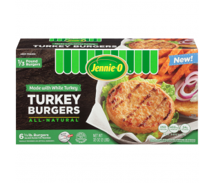 Turkey Burgers - Made with White Turkey