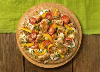 Turkey Pita Pizza