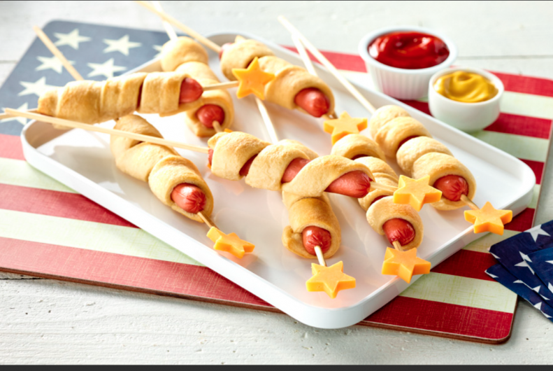 Star Spangled Turkey Dogs