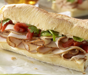 Chipotle Mayo Turkey Sub