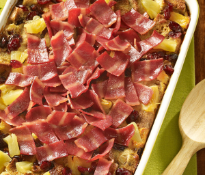 Turkey Bacon Casserole