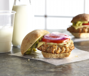 Queso Turkey Burger