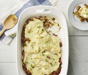 Curry Turkey & Mashed Potatoes