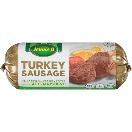 Jennie O S All Natural Turkey Sausage