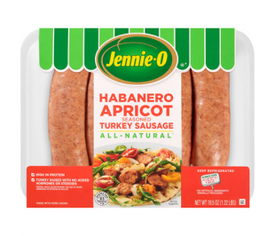 Habanero Apricot Seasoned Turkey Sausage