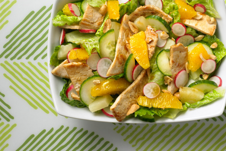 Sweet & Sour Chinese Turkey Salad