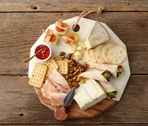 Turkey & Cheese Plate