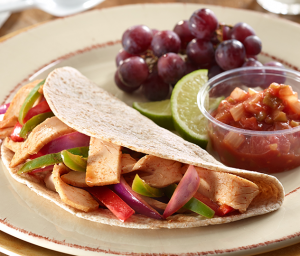Honey Lime Turkey Fajitas