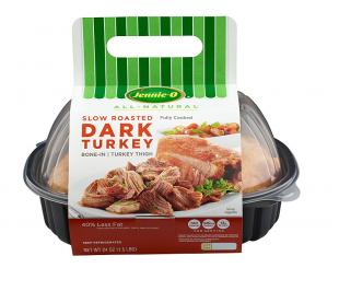 Slow Roasted Dark Turkey