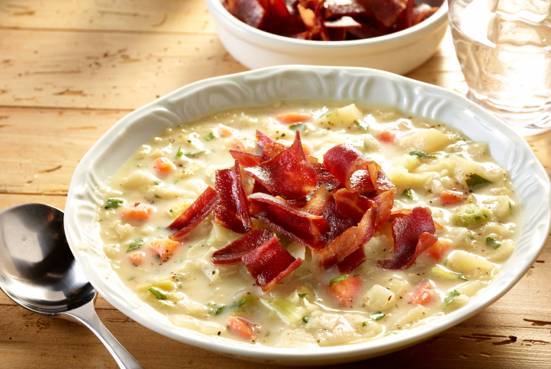Turkey Bacon & Potato Soup