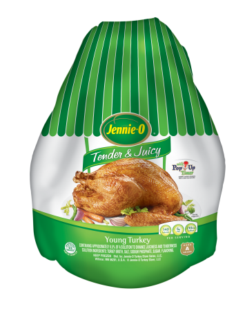 Tender & Juicy Young Turkey