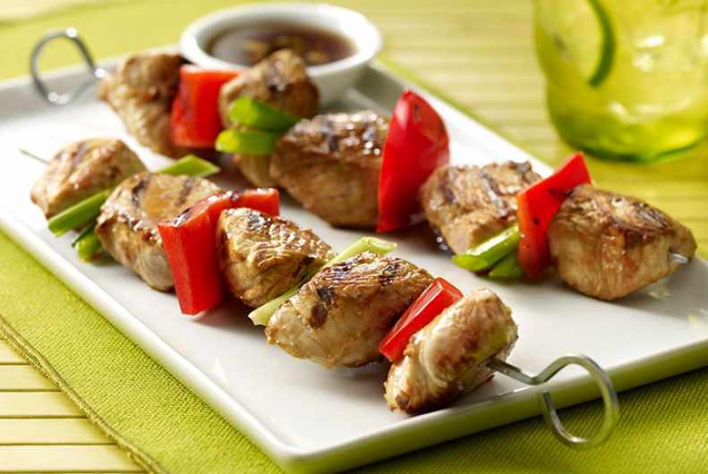 Asian Turkey Kabobs
